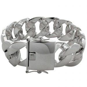 Panzerarmband 925er Silber