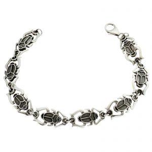 Armband Skarabäus 925er Silber