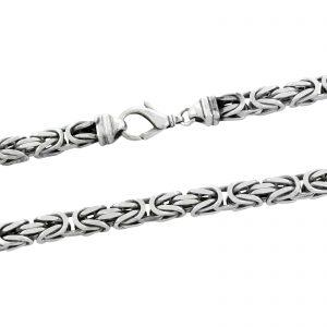 Königskette 12x12mm 925er Silber