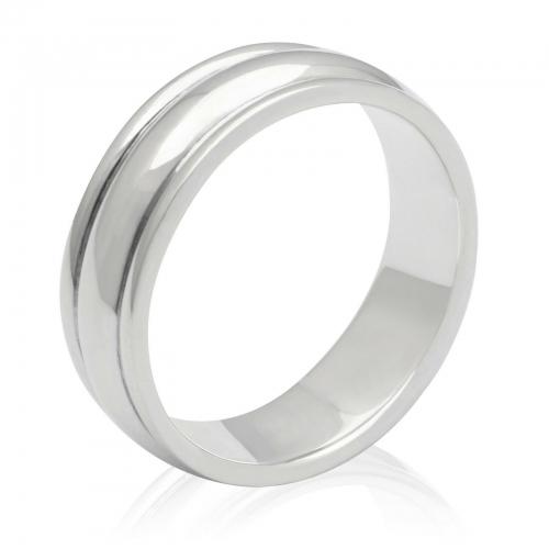 Ring Schlicht 925er Silber