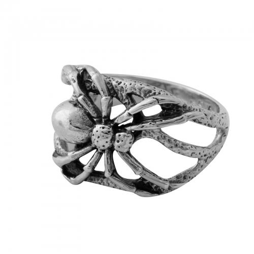 Spinnen Ring 925er Silber