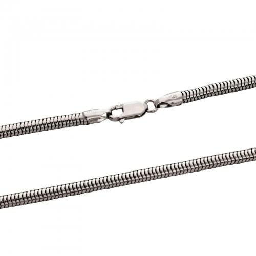 Schlangenkette 4mm 925er Silber