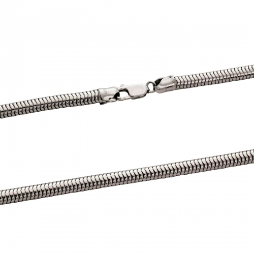 Schlangenkette 5mm 925er Silber