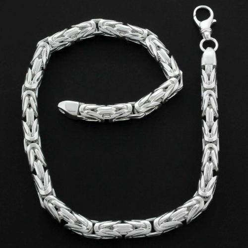Königskette Rund 12mm 925er Silber