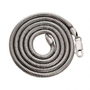 Schlangenkette 3mm 925er Silber