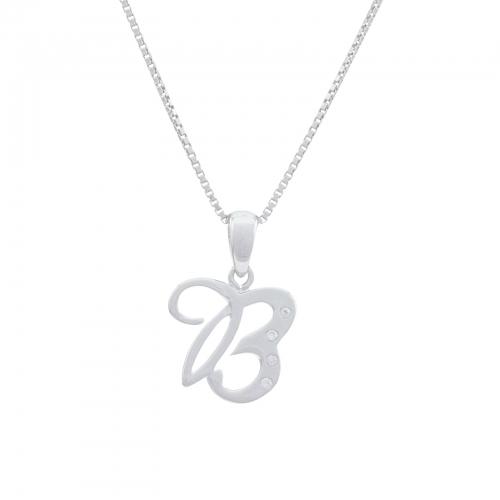 Buchstabenanhänger B