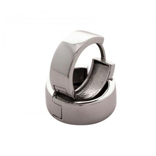 Creolen Basic 925er Sterling Silber Rhodiniert