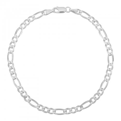 Figaroarmband 3mm 925er Silber