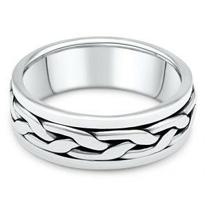 Herrenring Drehbar 925er Silber