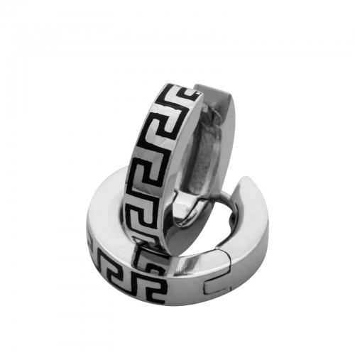 Creole Griechisches Muster Mäander 925 Silber Rhodiniert