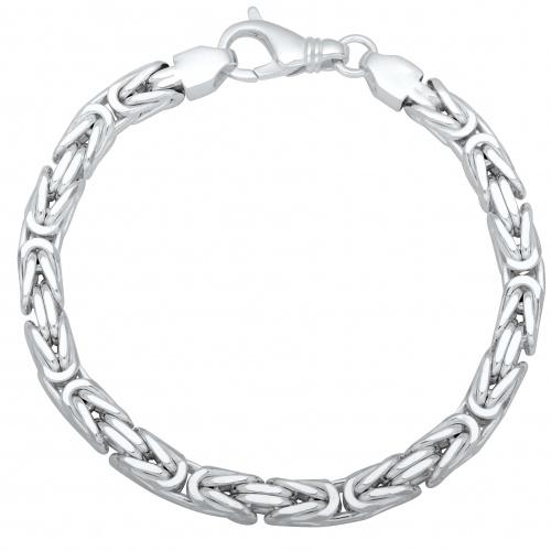 Königsarmband 7mm 925er Silber