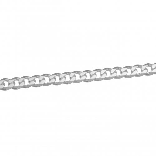 Panzerarmband 9mm 925 Sterling Silber