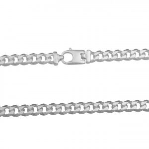 Panzerarmband 7mm 925 Sterling Silber