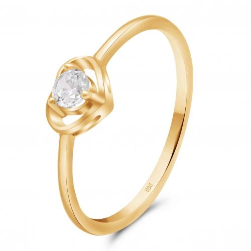 Herz Ring 585er Gold