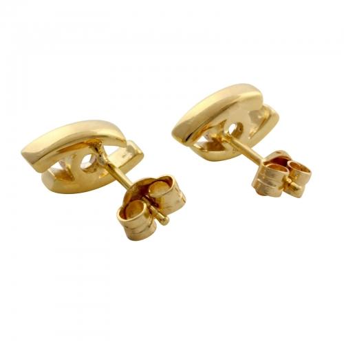Augen Ohrstecker 585 Gold