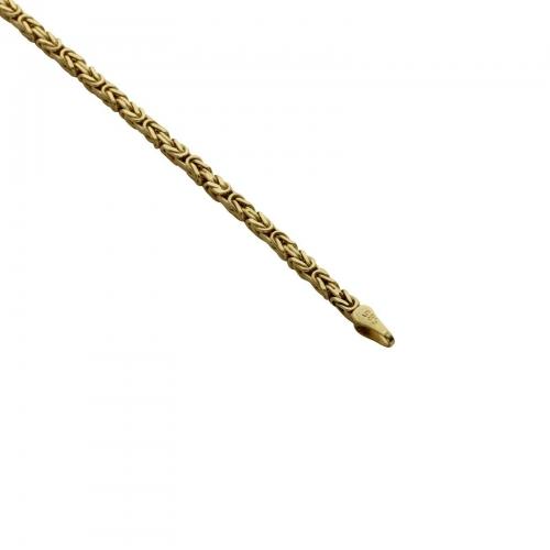 Königskette 2x2mm 585 Gold