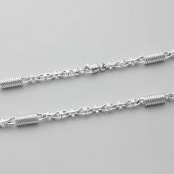 Monte Carlo 7 mm Silberarmband