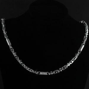Monte Carlo 9 mm Silberkette Halskette