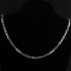 Monte Carlo 8 mm Silberkette Halskette