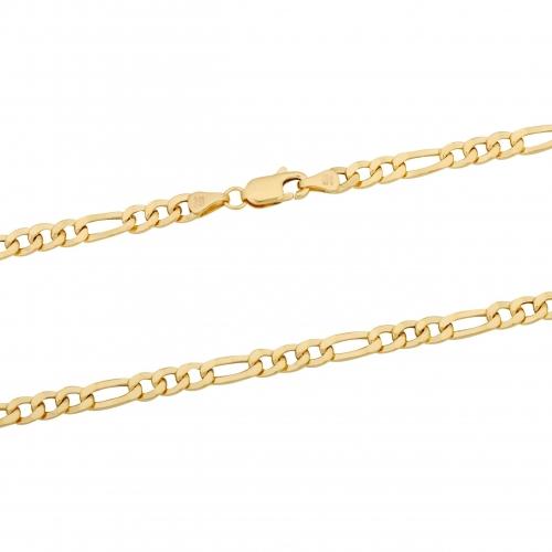 Figarokette 585er Gelbgold