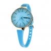 Hoops Damen Uhr Blau Rosegold