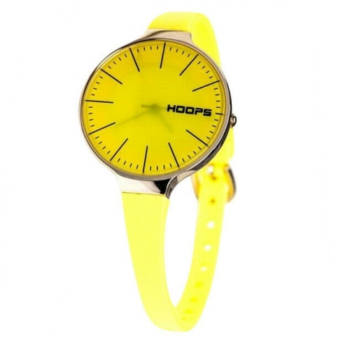 Hoops Damen Uhr Gelb