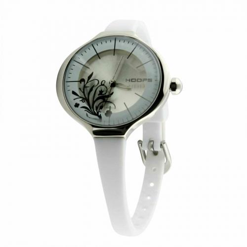 Hoops Damen Uhr Quarz Weiß