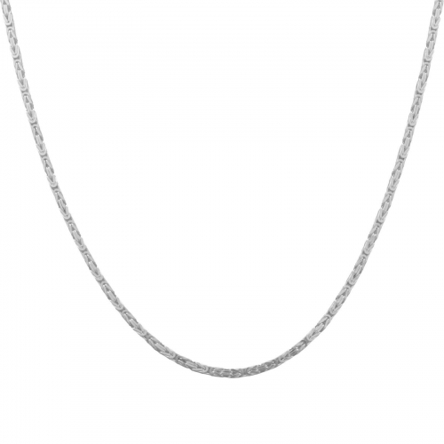 Königskette 2mm 925er Silber
