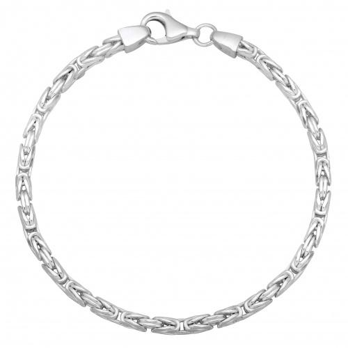Königsarmband 3mm 925er Silber