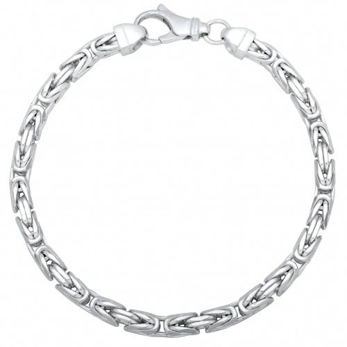 Königsarmband 5mm 925er Silber