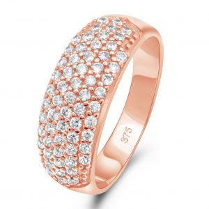 Cocktail Ring 375 Rose Gold