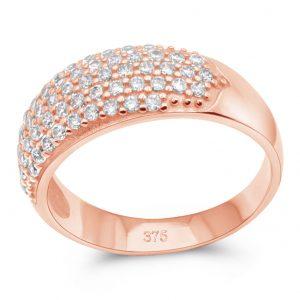 Cocktail Ring 375 Rose Gold
