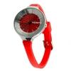 Hoops Damen Uhr Rot mit Strasssteinen