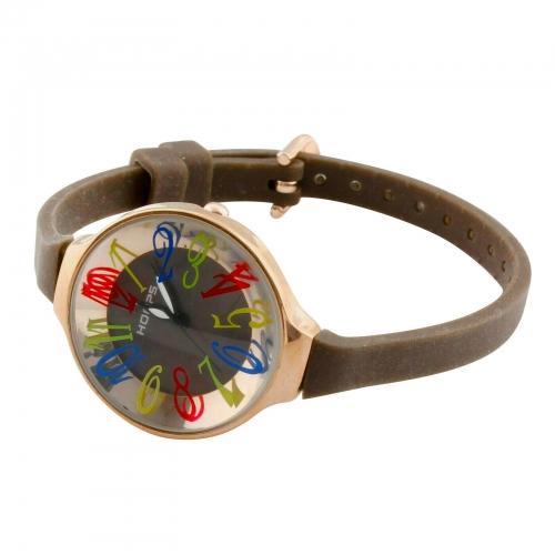 Hoops Damen Uhr Braun
