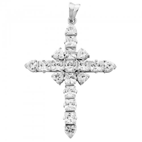 Kreuz Anhänger 925er Silber