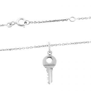Schlüssel Kette 925er Silber