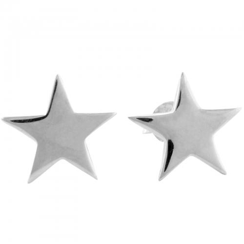 Stern Ohrstecker 925er Silber