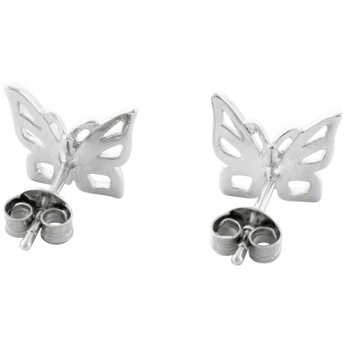 Schmetterling Ohrstecker 925er Silber