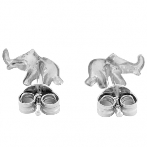 Elefant Ohrstecker 925er Silber