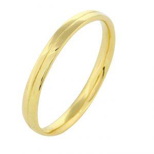 Ring 585er Vergoldet