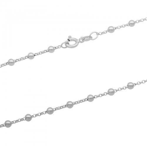 Kugelkette 925er Silber
