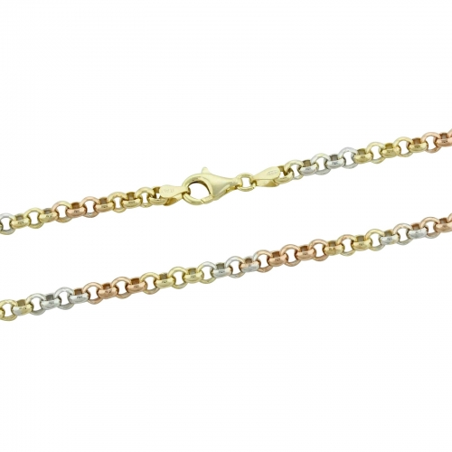 Erbskette 585er Vergoldet