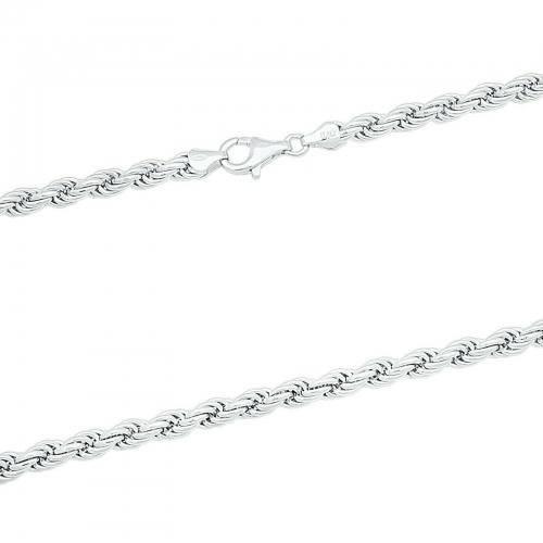 Kordelkette 7mm 925er Silber