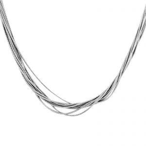Schlangencollier 925er Silber