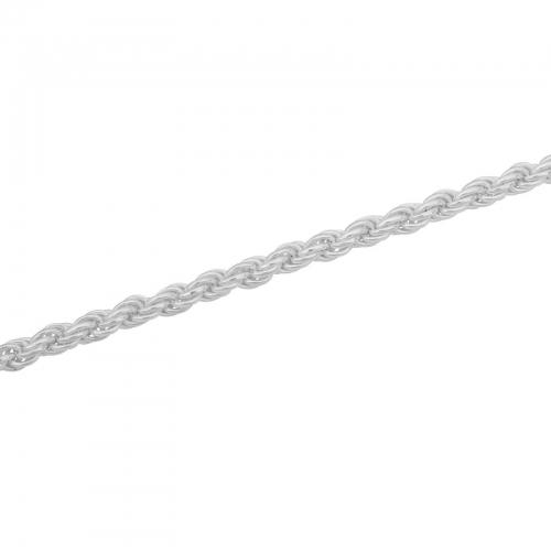 Kordelkette 6mm 925er Silber