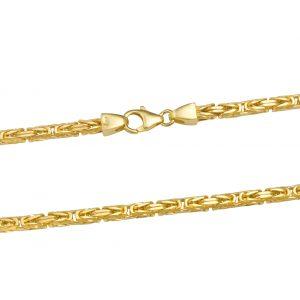 Königskette 3x3 mm 585er Gold