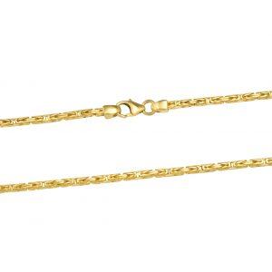 Königskette 2x2 mm 585er Gold