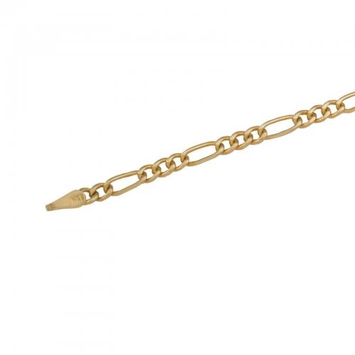 Figarokette 585 Gelbgold
