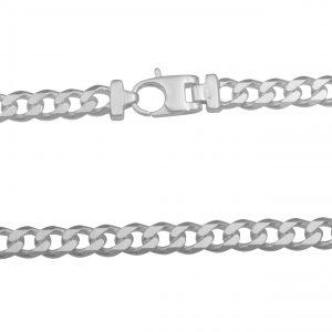 Panzerkette 8mm Massiv 925 Sterling Silber Halskette