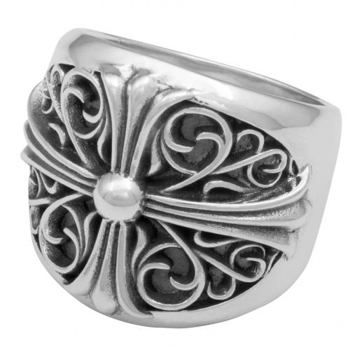 Kreuz Ring Gothic 925 Sterling Silber